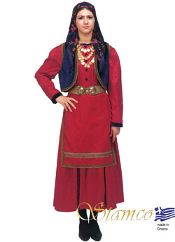 Folklore Vlach Woman Costume