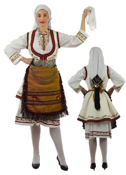 Folklore Florina Embroidery Costume