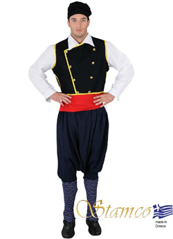 Folklore Cephalonian Man Costume