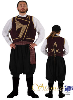 Folklore Cyprus Man Costume