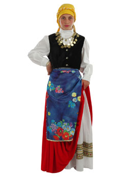Folklore Cefalonian  Girl Costume