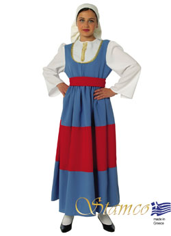 Folklore Maniatissa Girl Costume