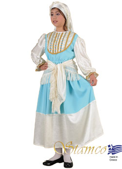 Folklore Cyclades Girl Costume