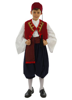 Folklore Aegean Islands Boy Costume
