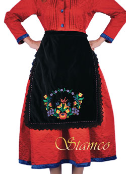 Folklore Embroidered Apron