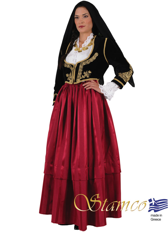 Folklore Cyprus Woman Costume