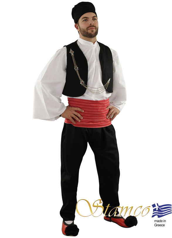 Folklore Vlach Red Sash Costume